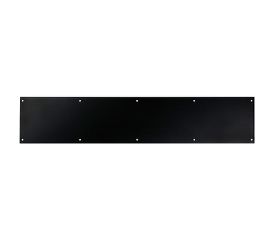 National Hardware N336-645 Kick Plate 6 By 30 Inch Oil Rubbed Bronze Anodized Aluminum