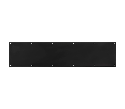 National Hardware N336-646 Home Designs Aluminum Door Kick Plate 8 Inch By 34 Inch Oil Rubbed Bronze
