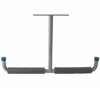 National Hardware N112-004 Overhead Padded Storage Hanger Tubular Gray Steel