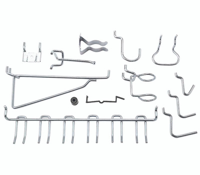 National Hardware N112-062 Pegboard Hook And Tool Organizing 47 Piece Assortment