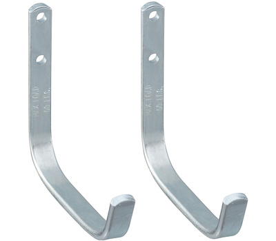 National Hardware N236-202 Heavy Duty Storage Hook Zinc Plated Steel 2 Pack
