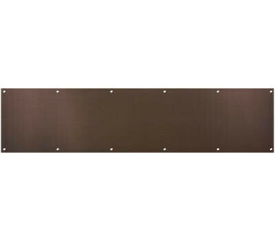 National Hardware N336-646 Kick Plate 8 By 34 Inch Oil Rubbed Bronze Anodized Aluminum