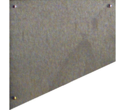 National Hardware N325-431 Kick Plate 8 By 34 Inch Satin Nickel Anodized Aluminum