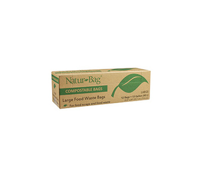 Natur-Tec NT1075-RTL-00007 Bag Compostable 13 Gallon