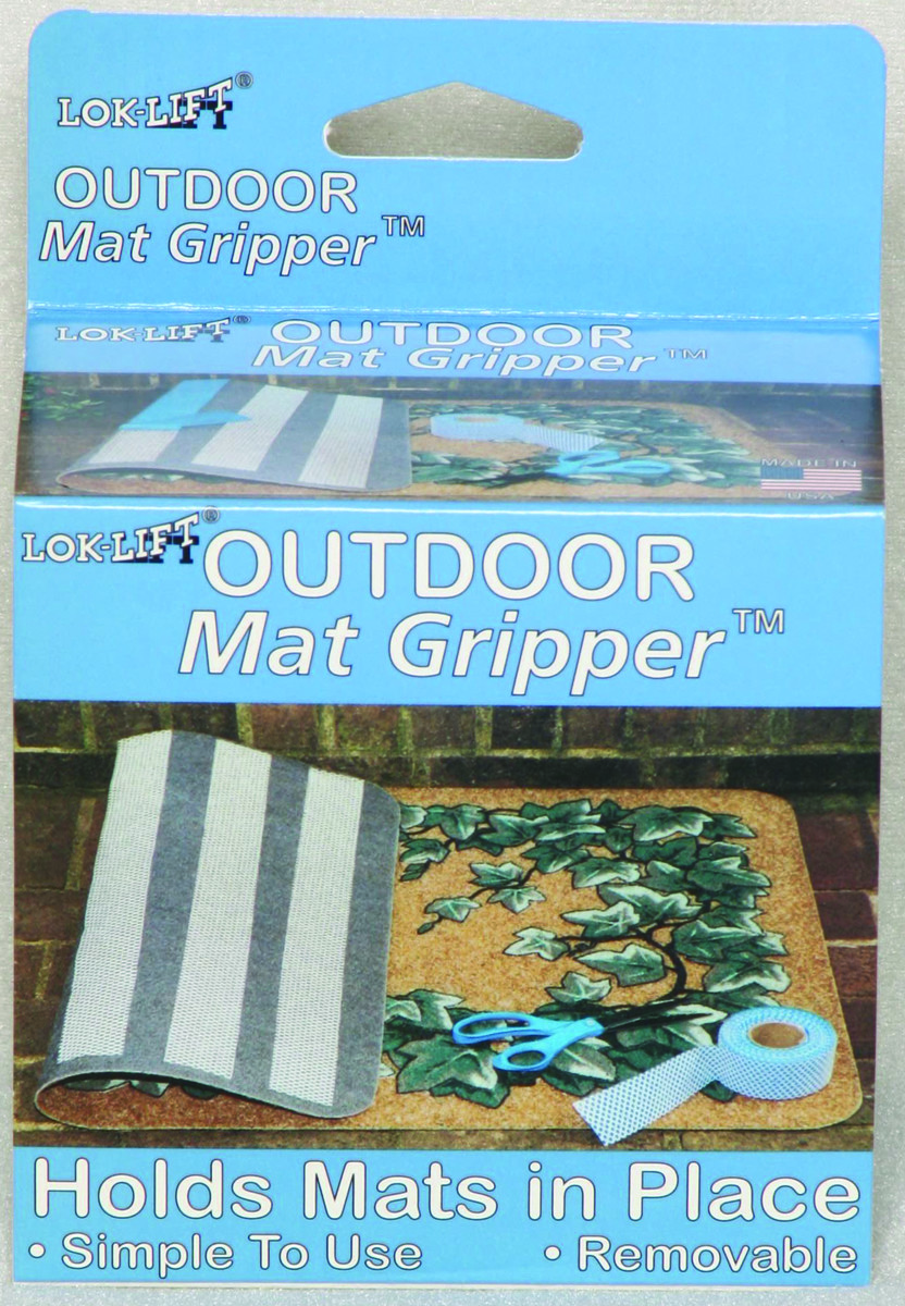 2-Inch by 25-Feet Optimum Technologies Lok Lift Outdoor Rug Gripper for Mats