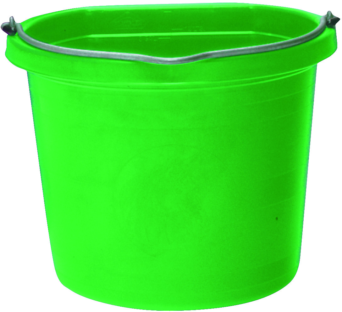 Fortex Fortiflex 1302043 Flat Back Bucket 5 Gallon Green Tap To Expand