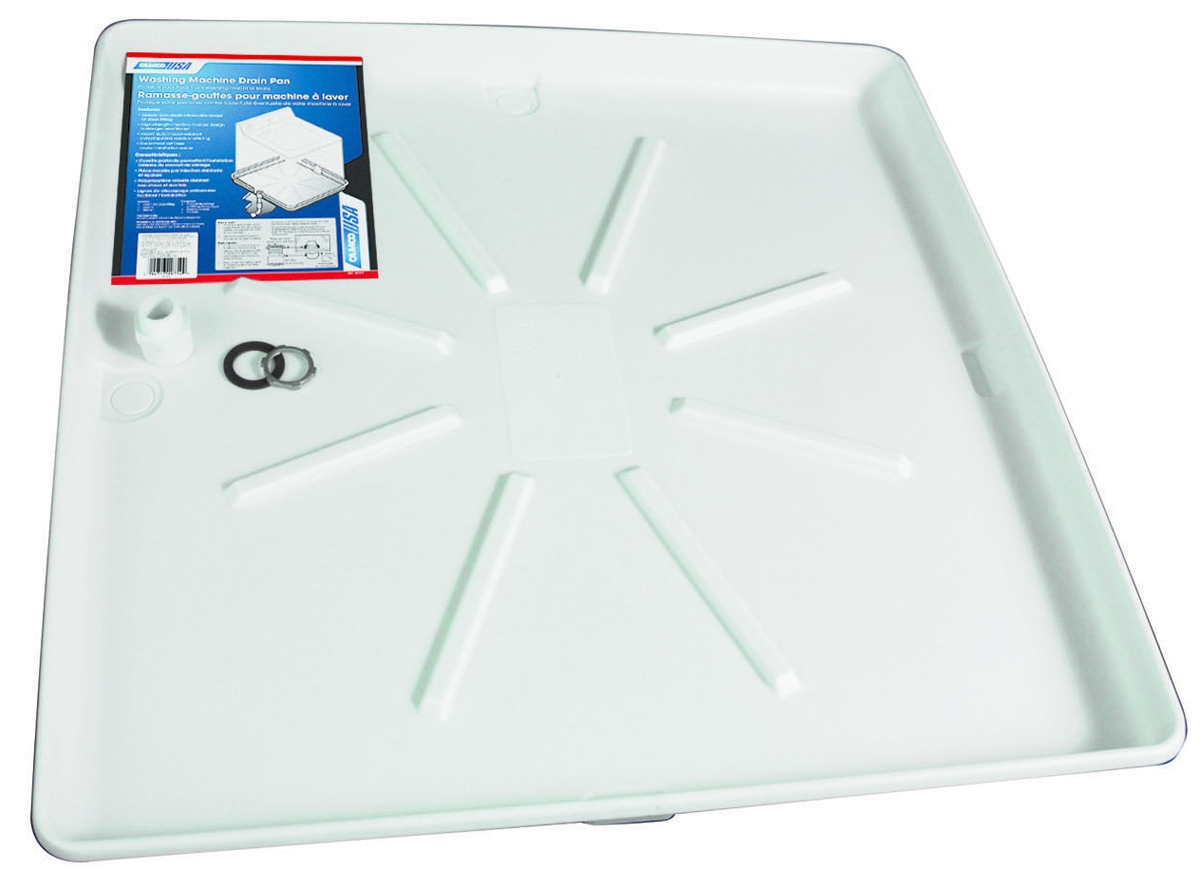 Camco 11470 Tankless Water Heater Drain Pan with PVC Fitting CAMCO MANUFACTURING
