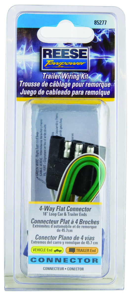 Reese Towpower 85277 Reese Towpower 85277 4-Way Towing Electrical ...