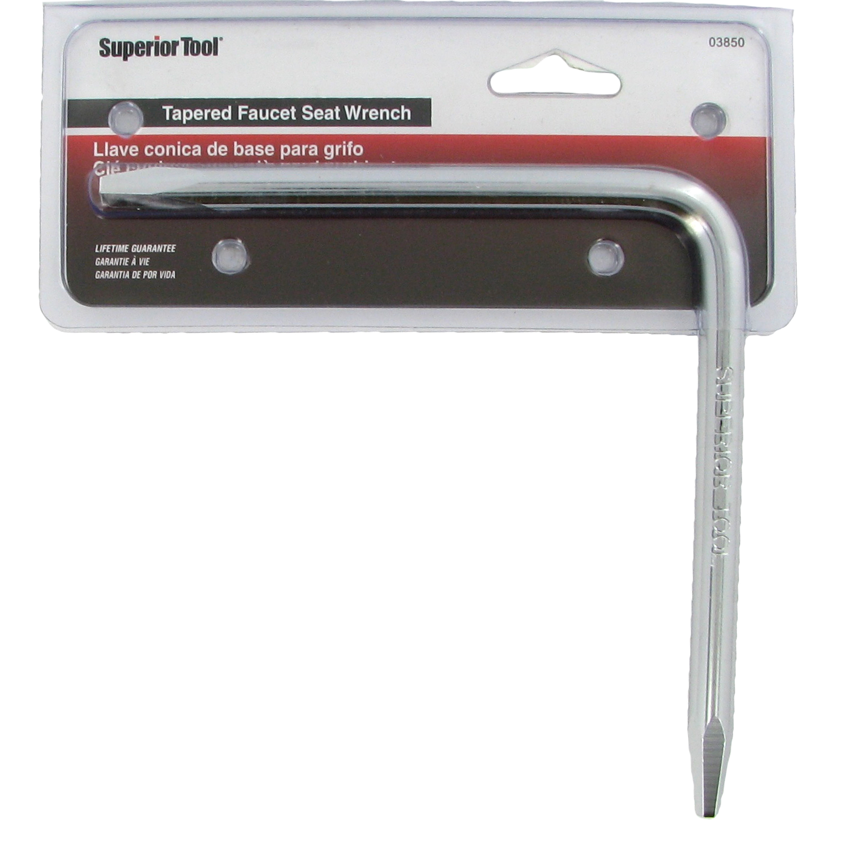 Superior Tool 03850 6 Inch By 6 Inch Tapered Faucet Seat Wrench ...