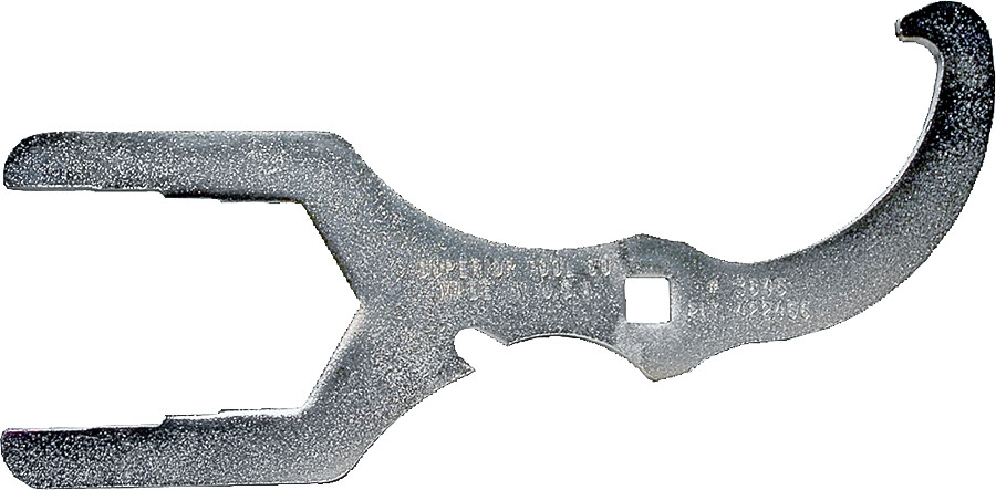 Superior Tool 03890 Basket Strainer Wrench-Universal Sink Basket Strainer Wrench