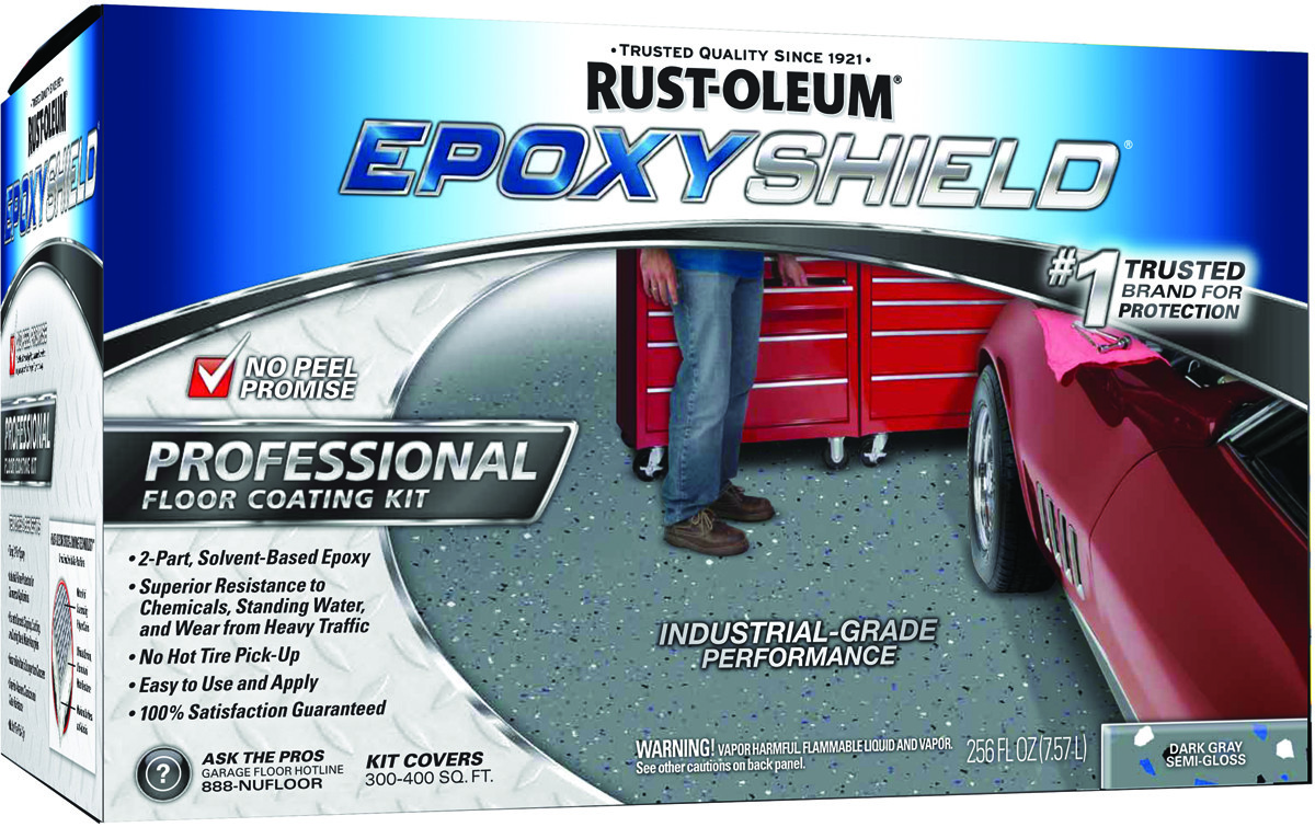 Rust-Oleum 238467 Epoxy Shield Dark Gray Professional Epoxy Floor Coating