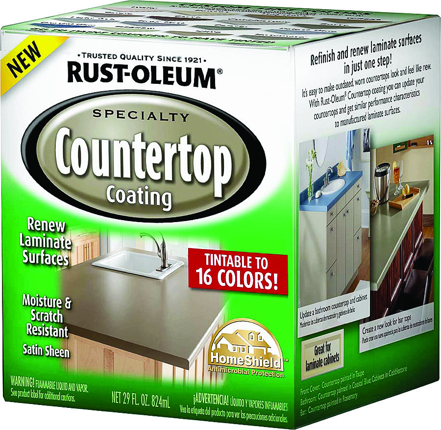 Rust Oleum 246068 Specialty Countertop Coating White Satin Tint Base ...