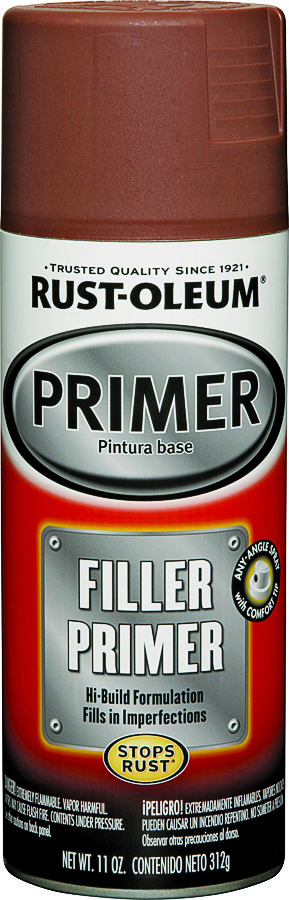 Rust-Oleum 249320 Auto Coatings Red Filler Primer Spray