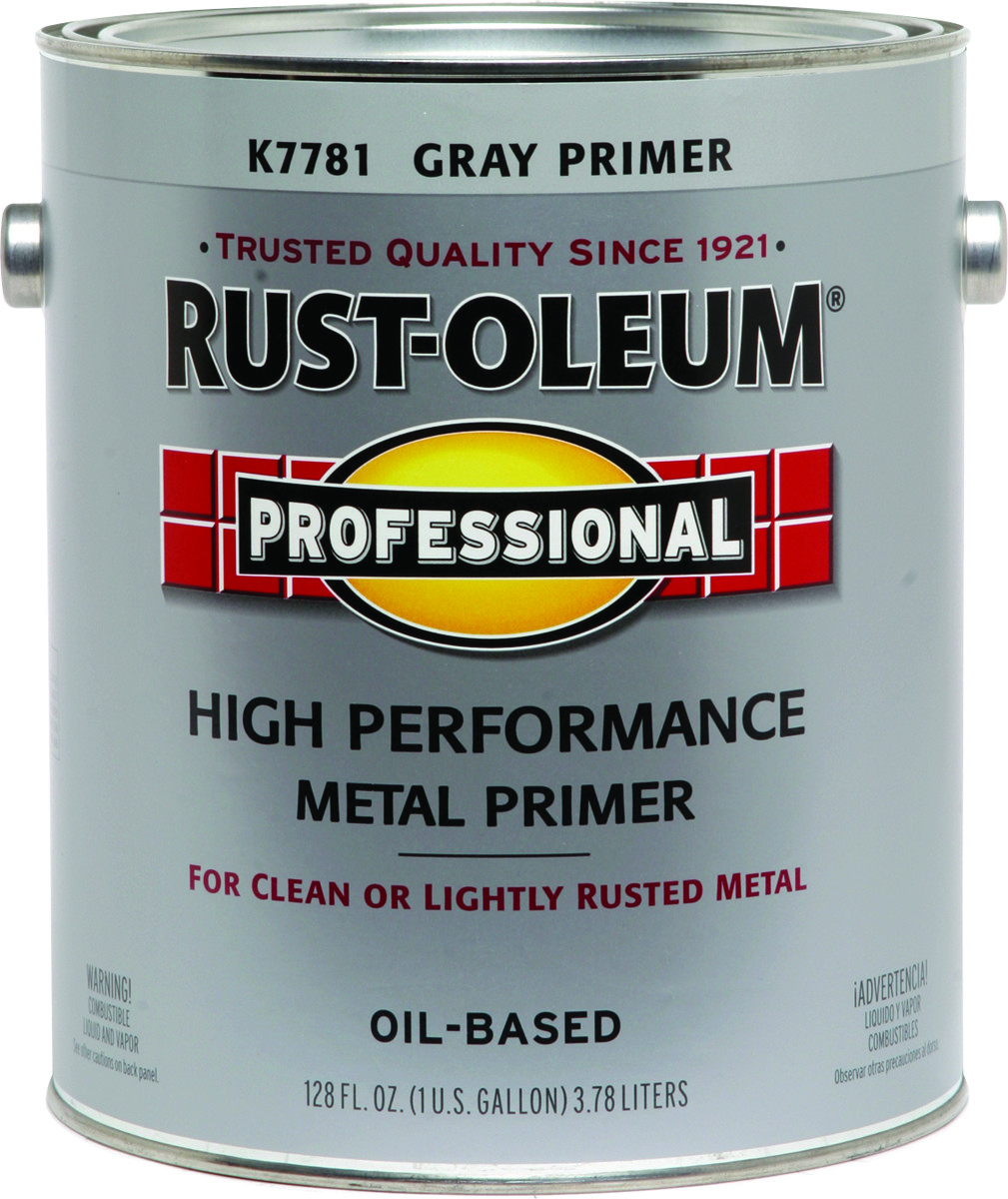 Rust-Oleum K7781402 Professional Gray Direct To Metal Primer Alkyd Gallon  VOC 400
