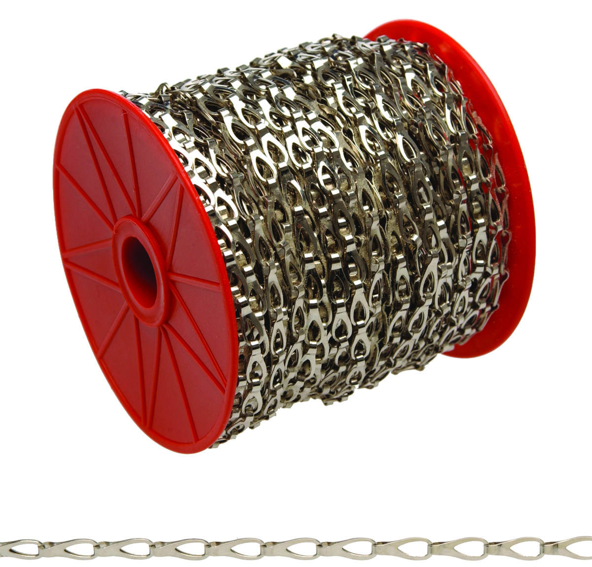 Campbell Chain 0710227 Hobby Craft Sash Chain #2 By 164 Foot Chrome Plated  Steel