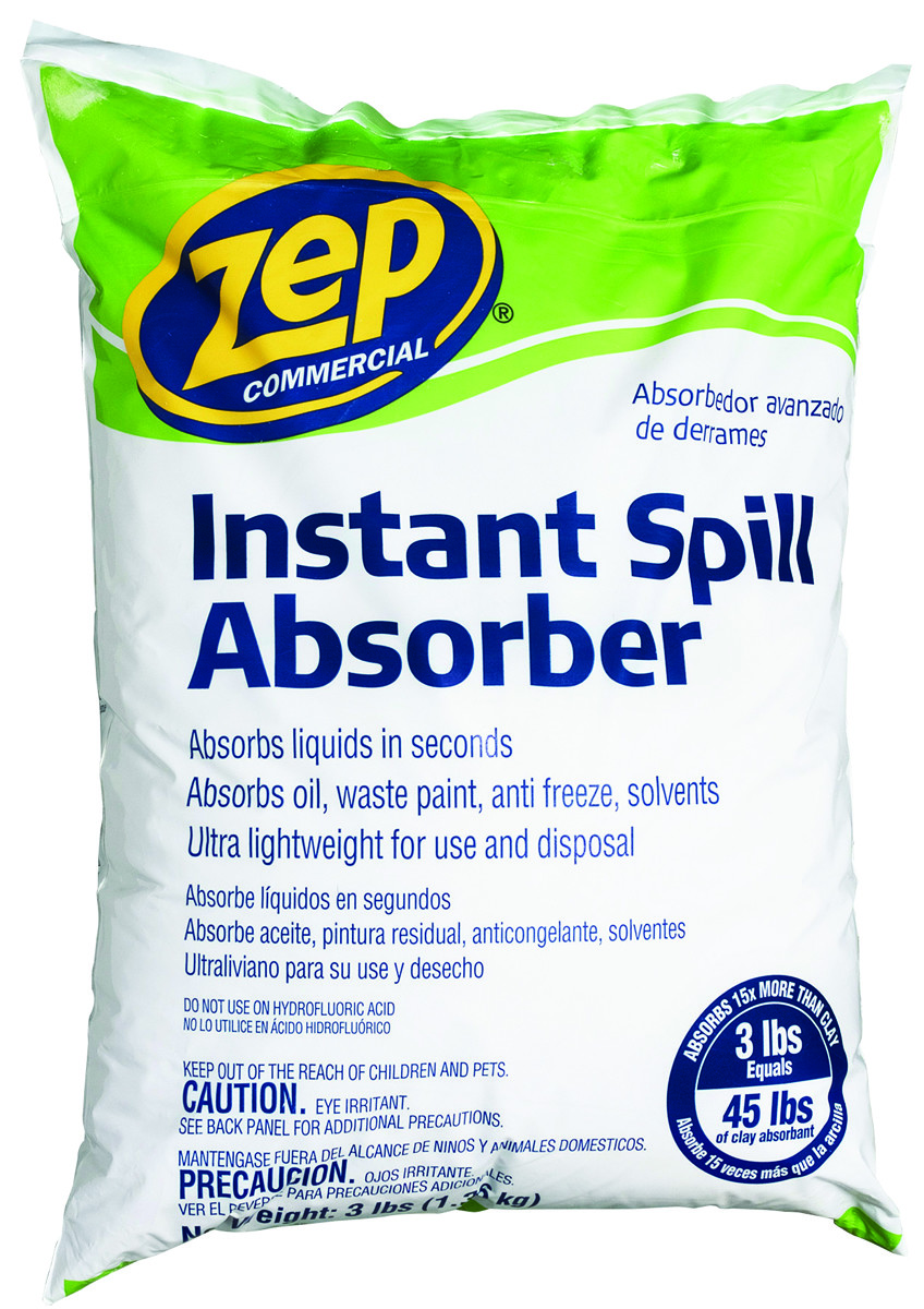 Zep Enforcer ZUABS3 Zep Commercial Instant Spill Absorber 3 Pound