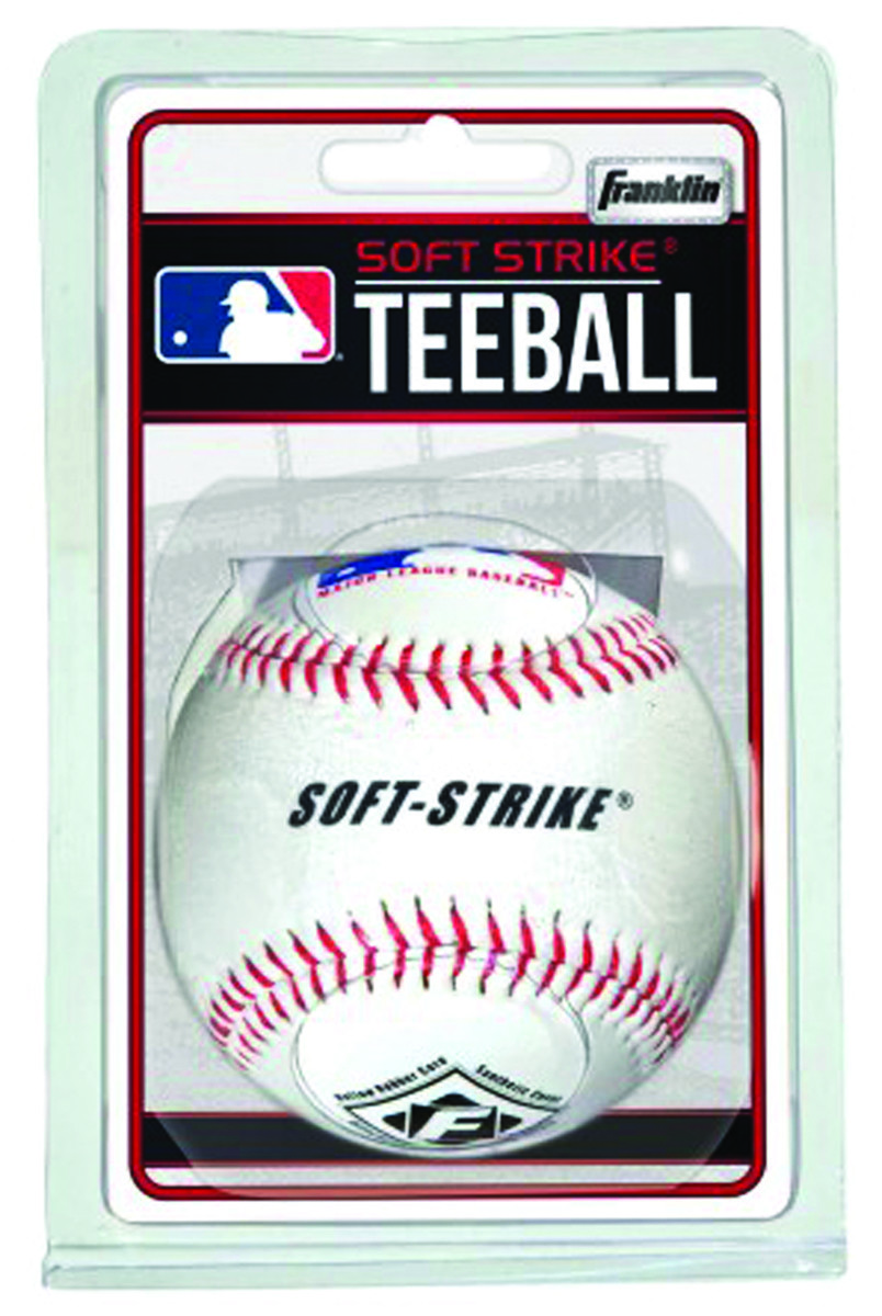 4 Pack Franklin Sports Official League Synthetic Softball