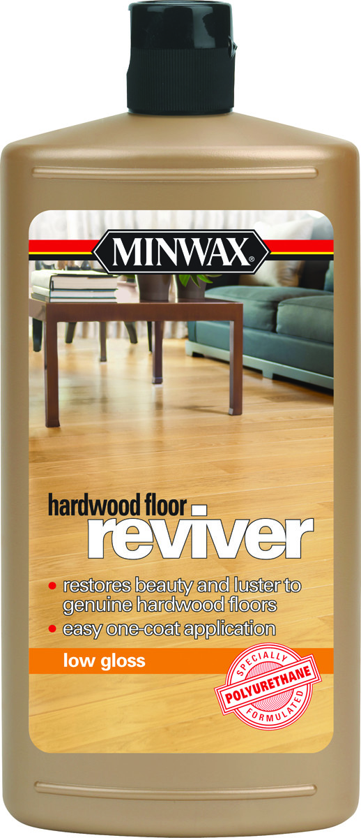 Minwax 60960 Reviver Quart Low Gloss Hardwood Floor Reviver