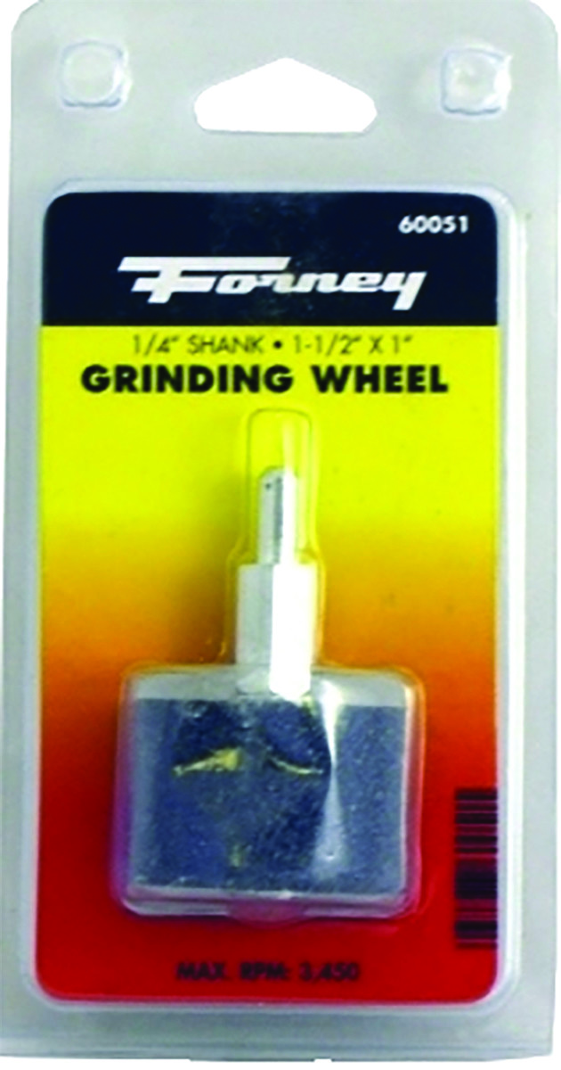 2-Inch-by-1//4-Inch Forney 60052 Mounted Grinding Stone with 1//4-Inch Shank