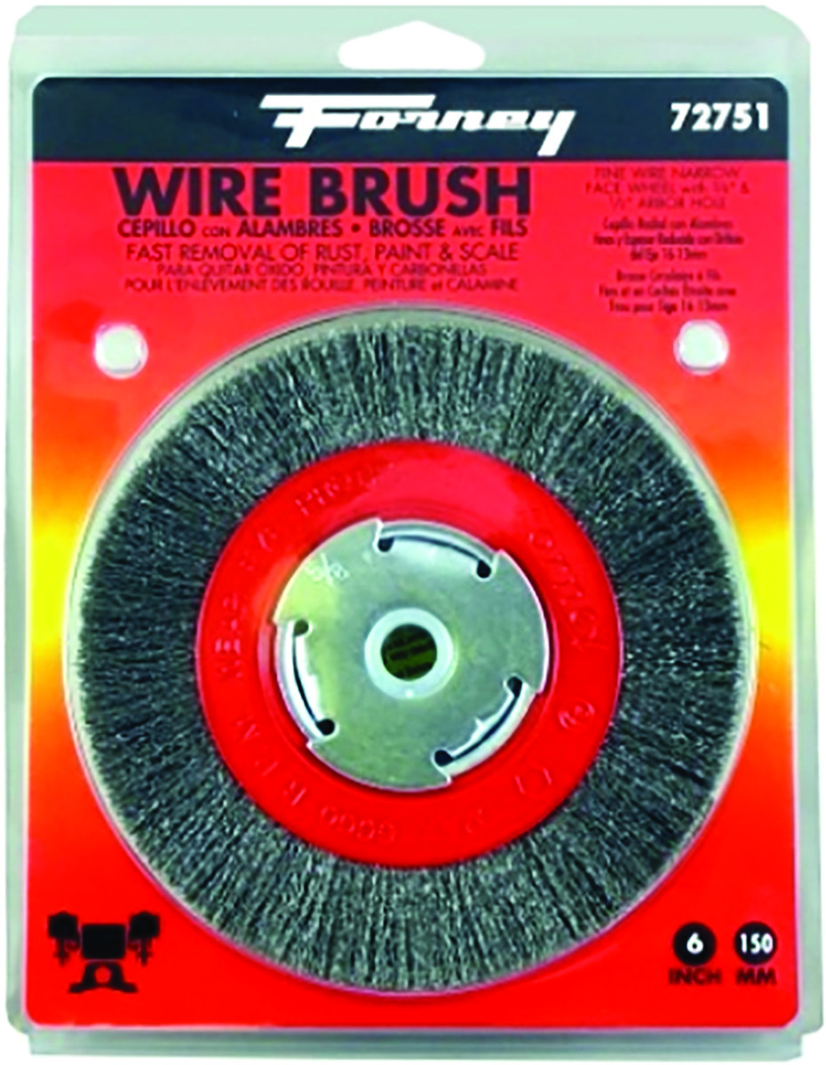 Enjoyable Forney 72751 Brush Wire Wheel Fine 6X 008In Gmtry Best Dining Table And Chair Ideas Images Gmtryco