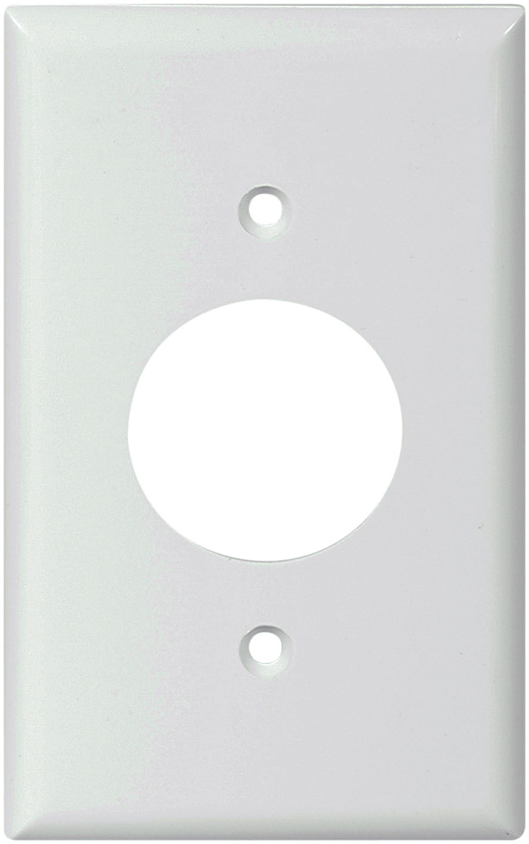 Cooper Wiring 5131w Box Single Outlet Wall Plate Nylon White Tap To Expand