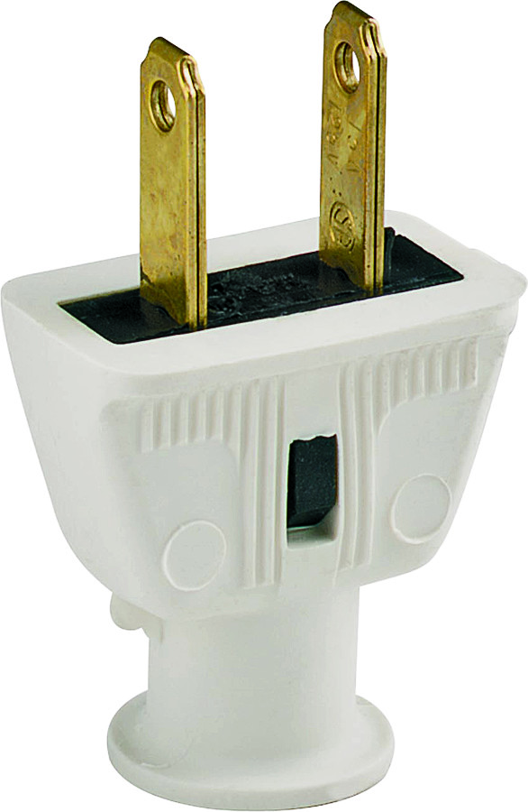 Cooper Wiring 183W-BOX 2 Wire Rubber Plug White (032664215100) [1]