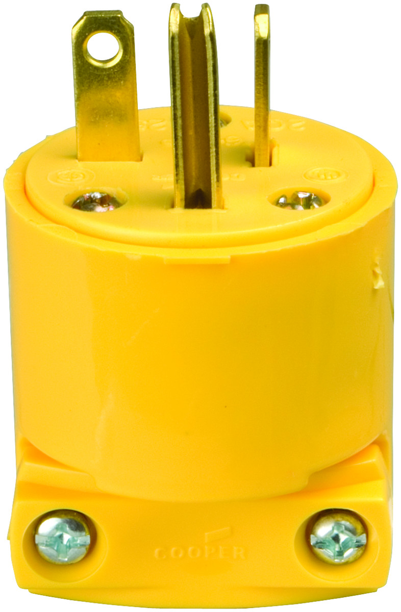 Cooper Wiring 2836box Armored 3wire Grounded Cord Plug Yellow At Digital Voice Record And Playback Project By Isd2560p Eeweb 4509 Box 3 Wire Straight 032664340000 1 Rh Hardwareandtools Com