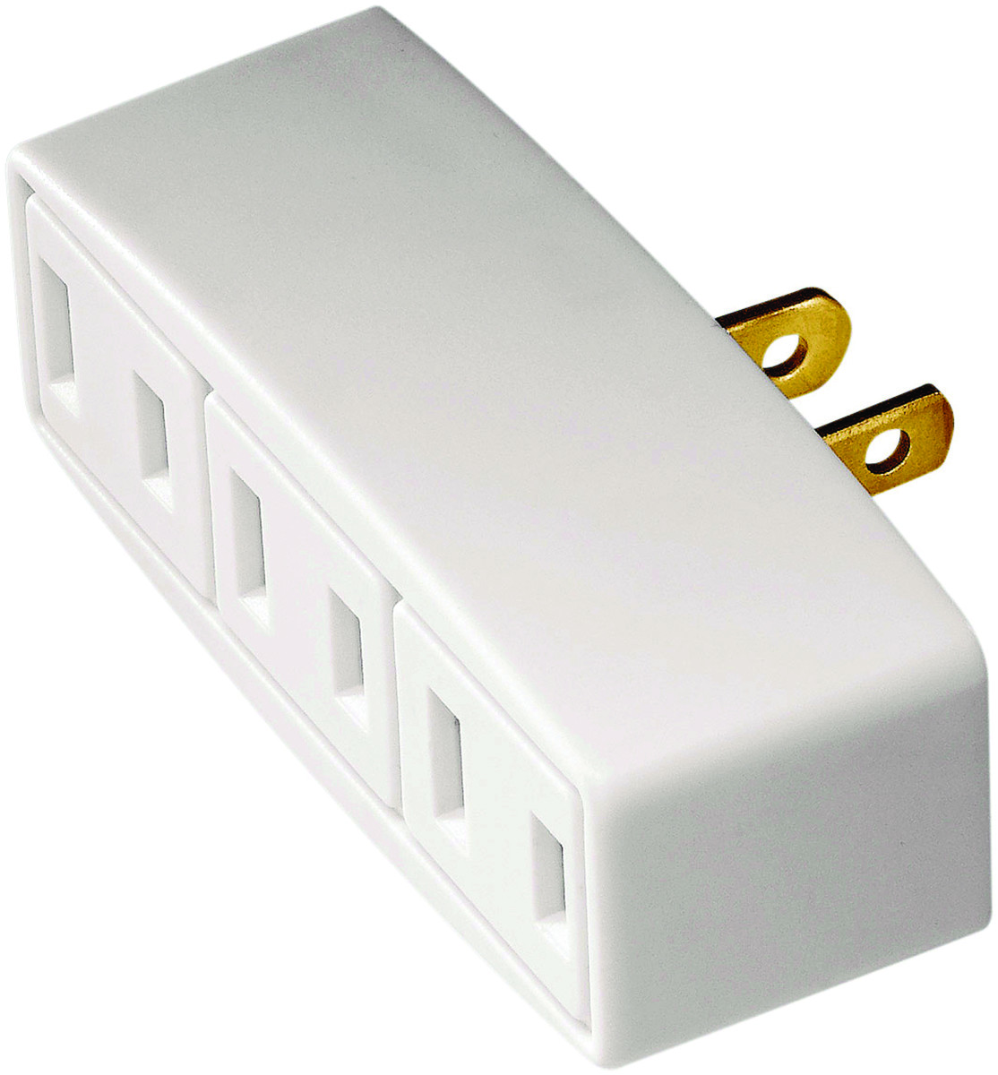 Cooper Wiring Bp1747w Outlet Tap Adapter 125 Volt 15 Amp 3 Polarized To Expand
