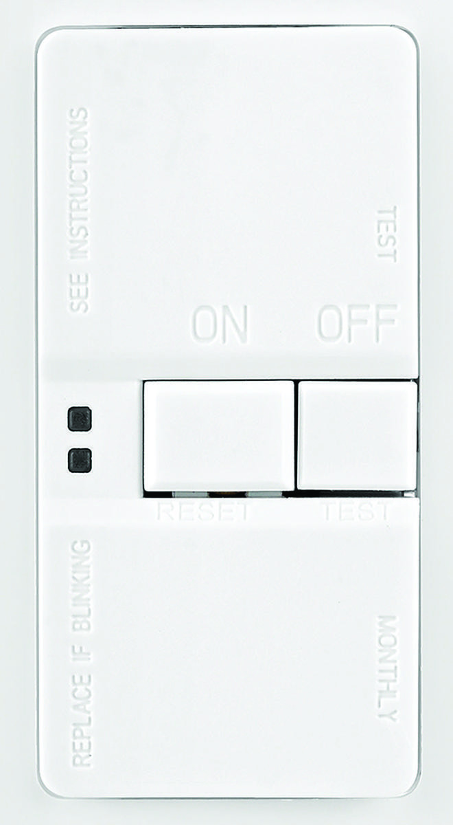 Cooper Wiring Sgfd20w 20 Amp Gfci Recepticle Blank Face With Receptacles Tap To Expand