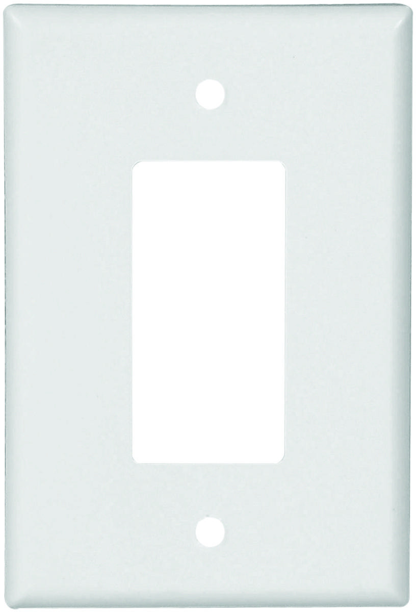 cooper wiring 2751w box 1 gang decor wall plate white 032664752070 1 rh hardwareandtools com cooper wiring devices switch plates cooper wiring wall plate 4 gang bronze