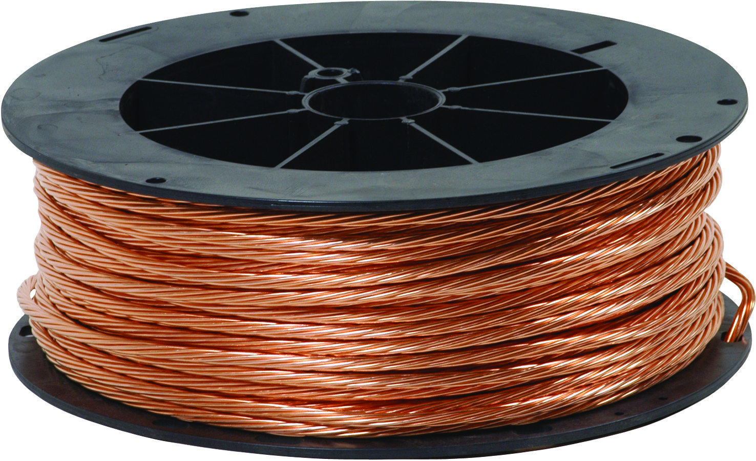 Electrical Lighting Building Specialty Wire Cable Rolls Bare Copper Ground Wire Southwire 4strdx200bare  Gauge Stranded Bare Copper Wire