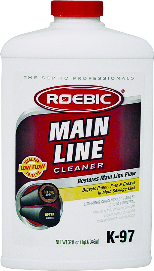 Roebic K-97 Main Line Cleaner Quart