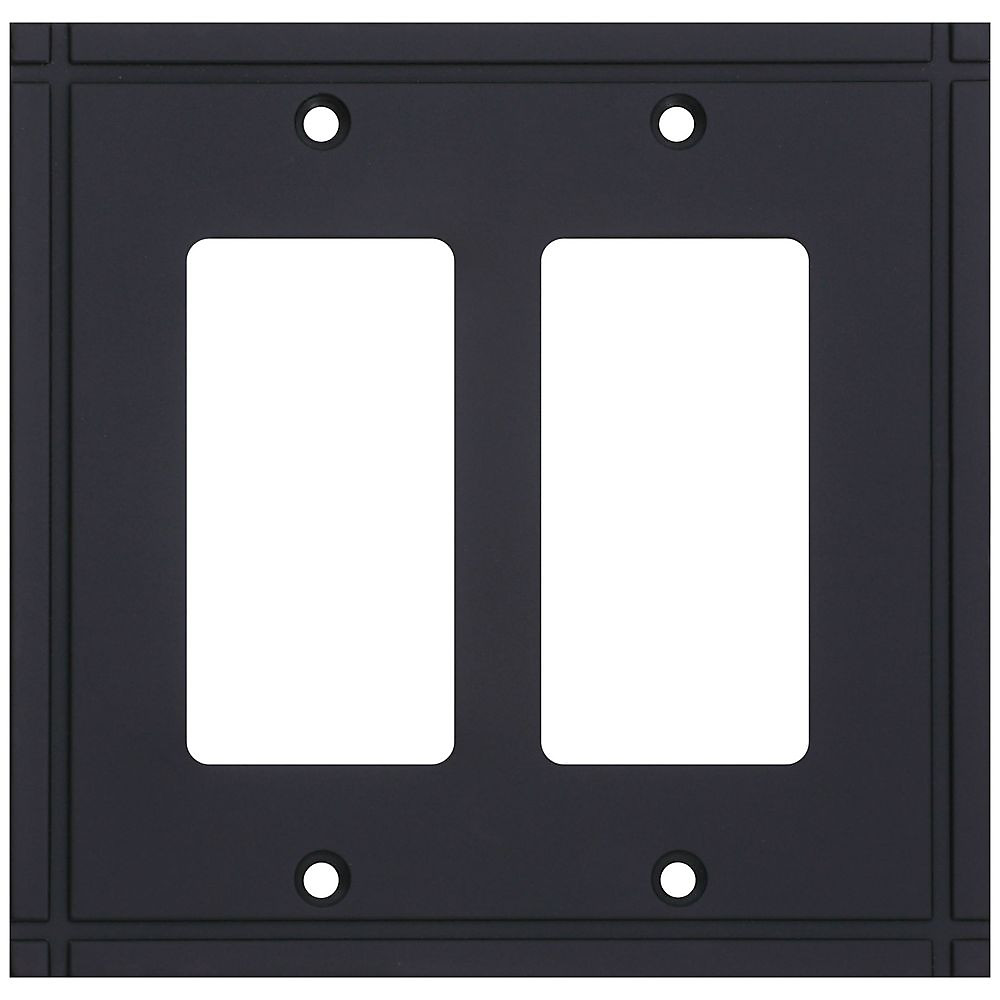 National Hardware S832-436 Stanley Ranch Double Rocker Wall Plate ...