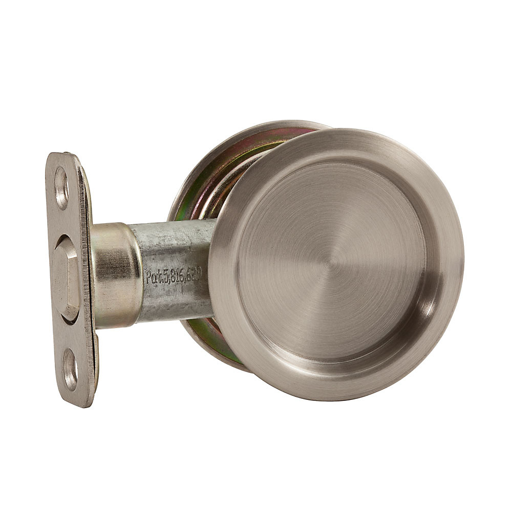 Hot S Outlet Door Hardware Pocket National S849 075 N350 322 Stanley Page Round Pull Satin Nickel