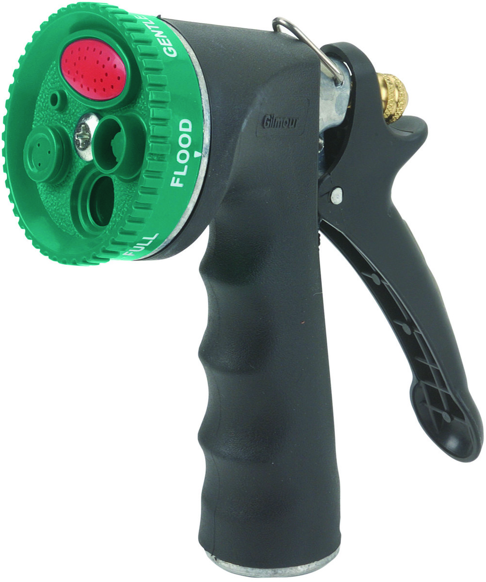 Gilmour Fiskars 594 Garden Hose Comfort Grip Nozzle 7 Pattern. Tap To Expand