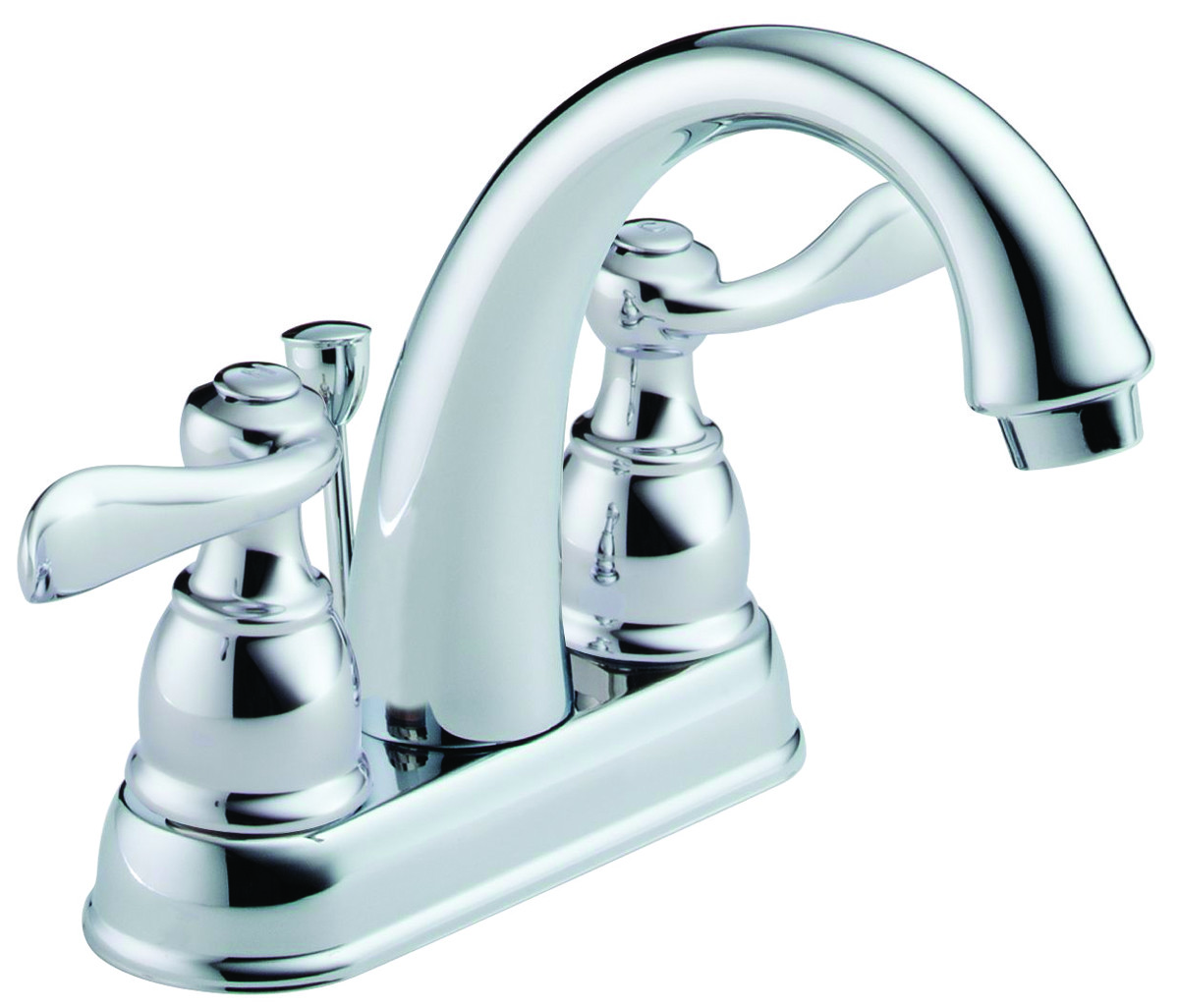 Delta Faucet B2596lf Lavatory 2 Handle Chrome Hover To Zoom