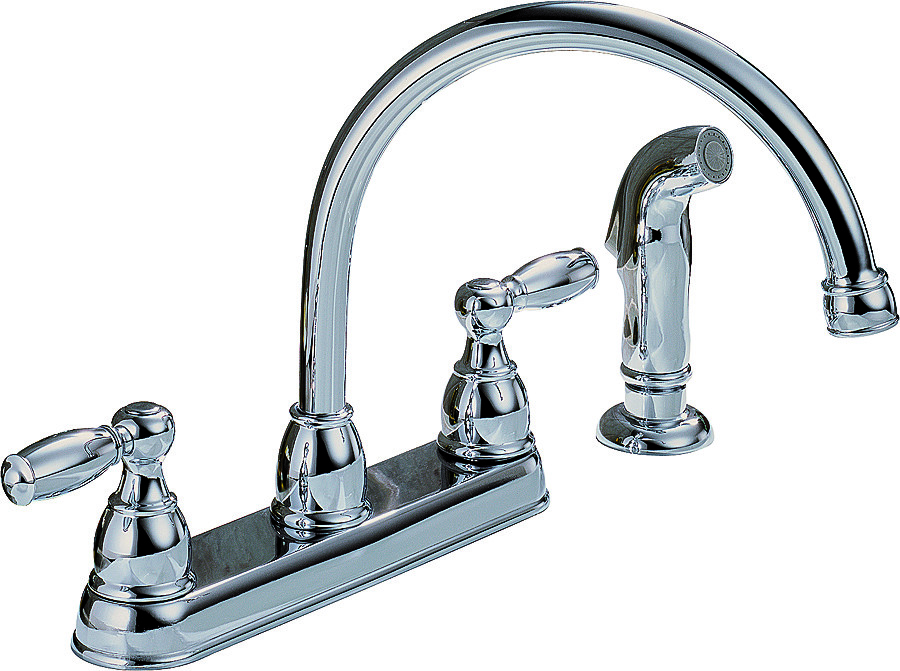 Delta Faucet P299575lf Rless Kitchen