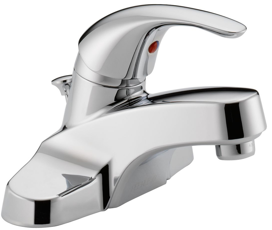 Delta Faucet P188620lf Rless Lavatory Single Lever Handle Chrome Hover To Zoom