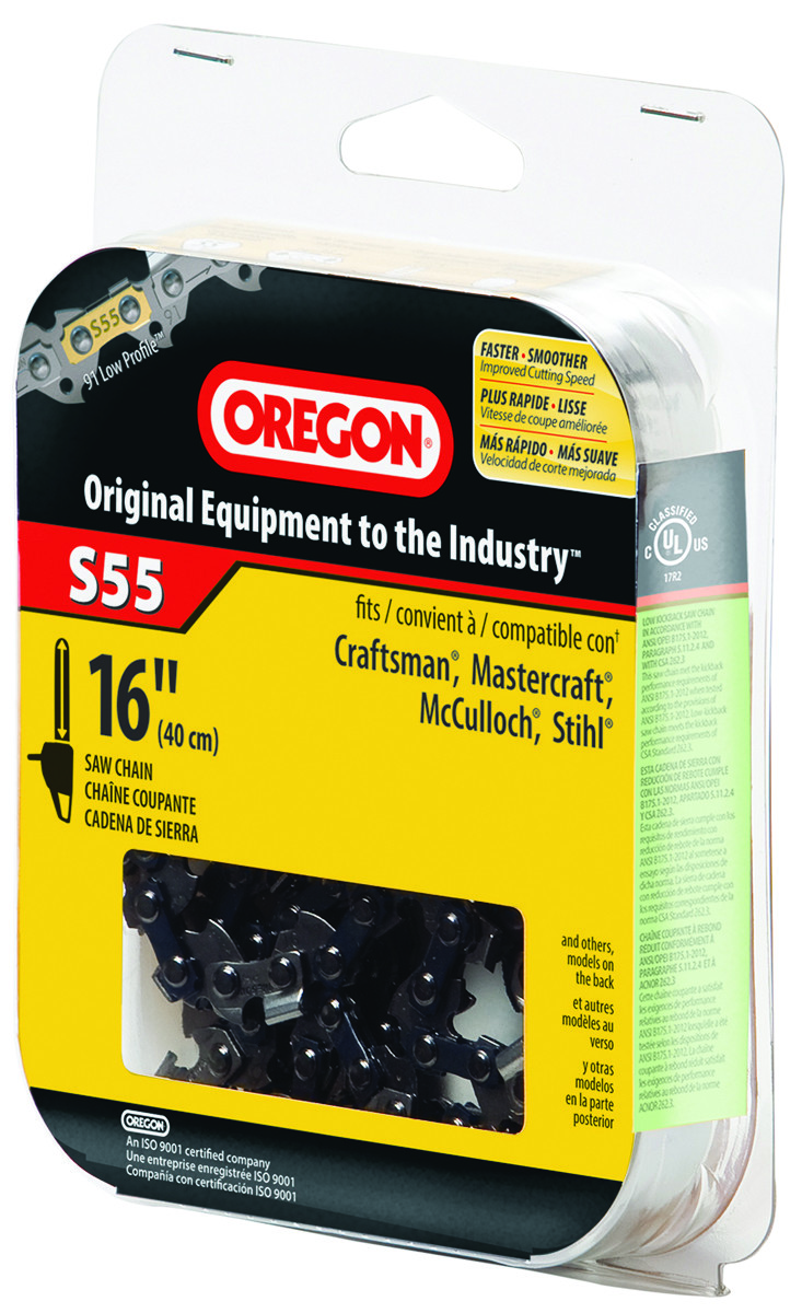 Oregon cutting s55 chain replace chainsaw 16in 036577000495 1 oregon cutting s55 chain replace chainsaw 16in hover to zoom greentooth Choice Image