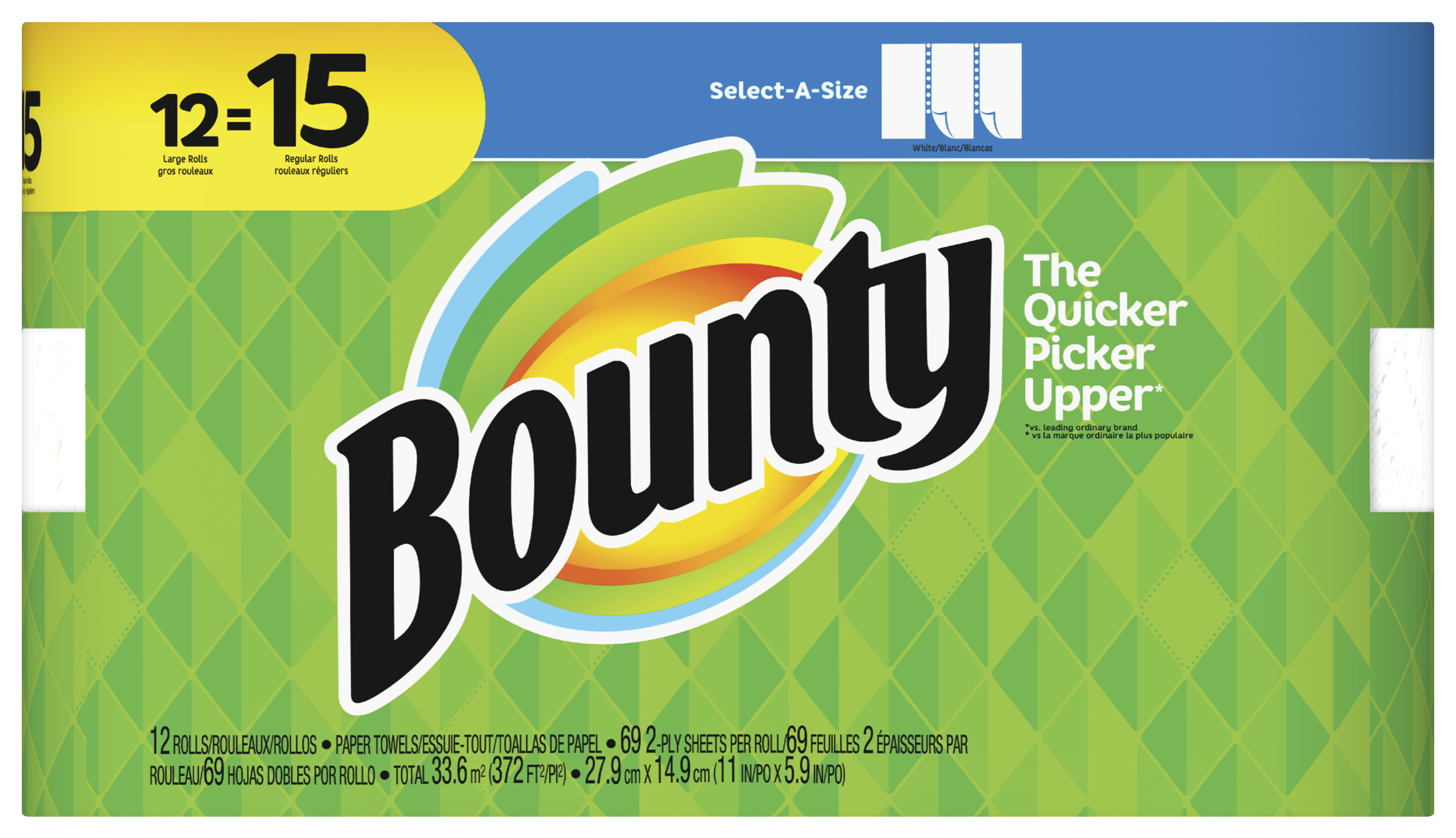 Paper Towel Bounty Large Roll 12 Pack Tap To Expand