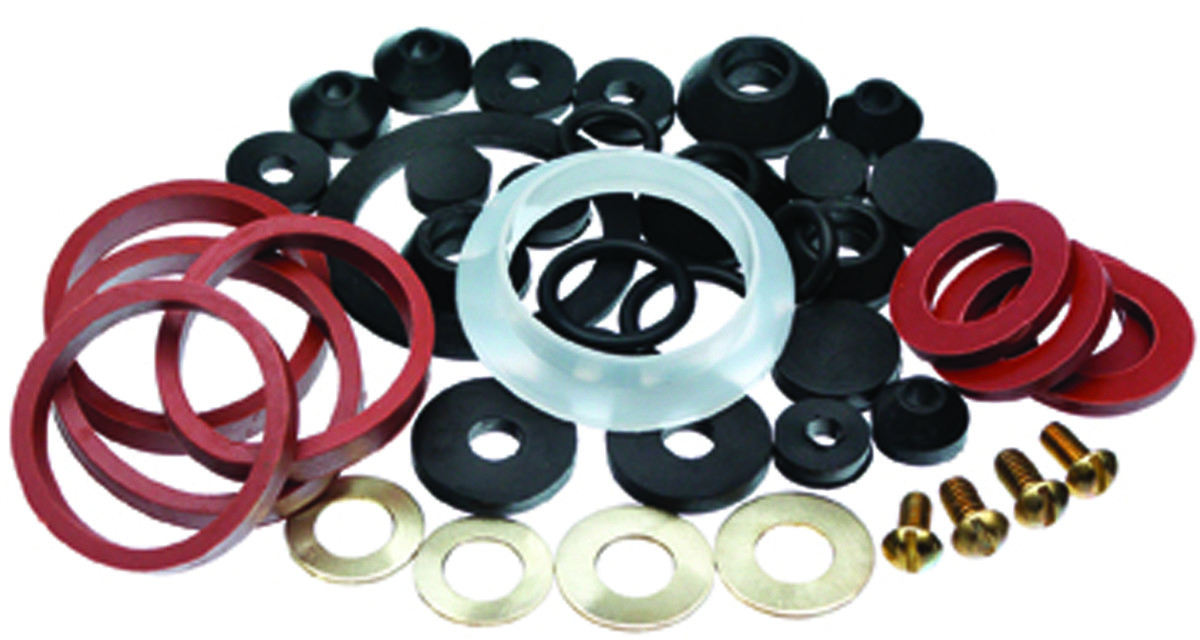 Danco 80817 Faucet Washer Assortments Homeowners Kit 42 Piece ...