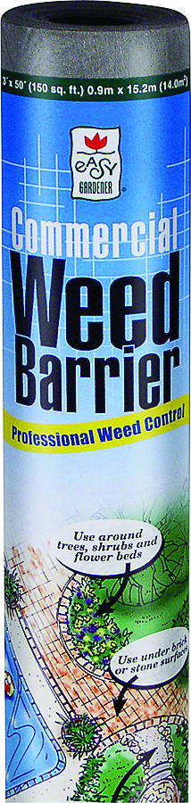 Easy Gardener 2509 Commercial Weed Barrier 4 Foot By 100 Foot 038398025091 2