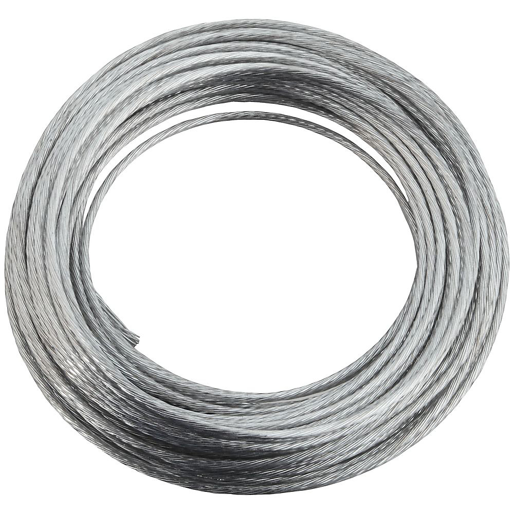 National Hardware N260 323 Heavy Duty Braided Wire Galvanized No 4