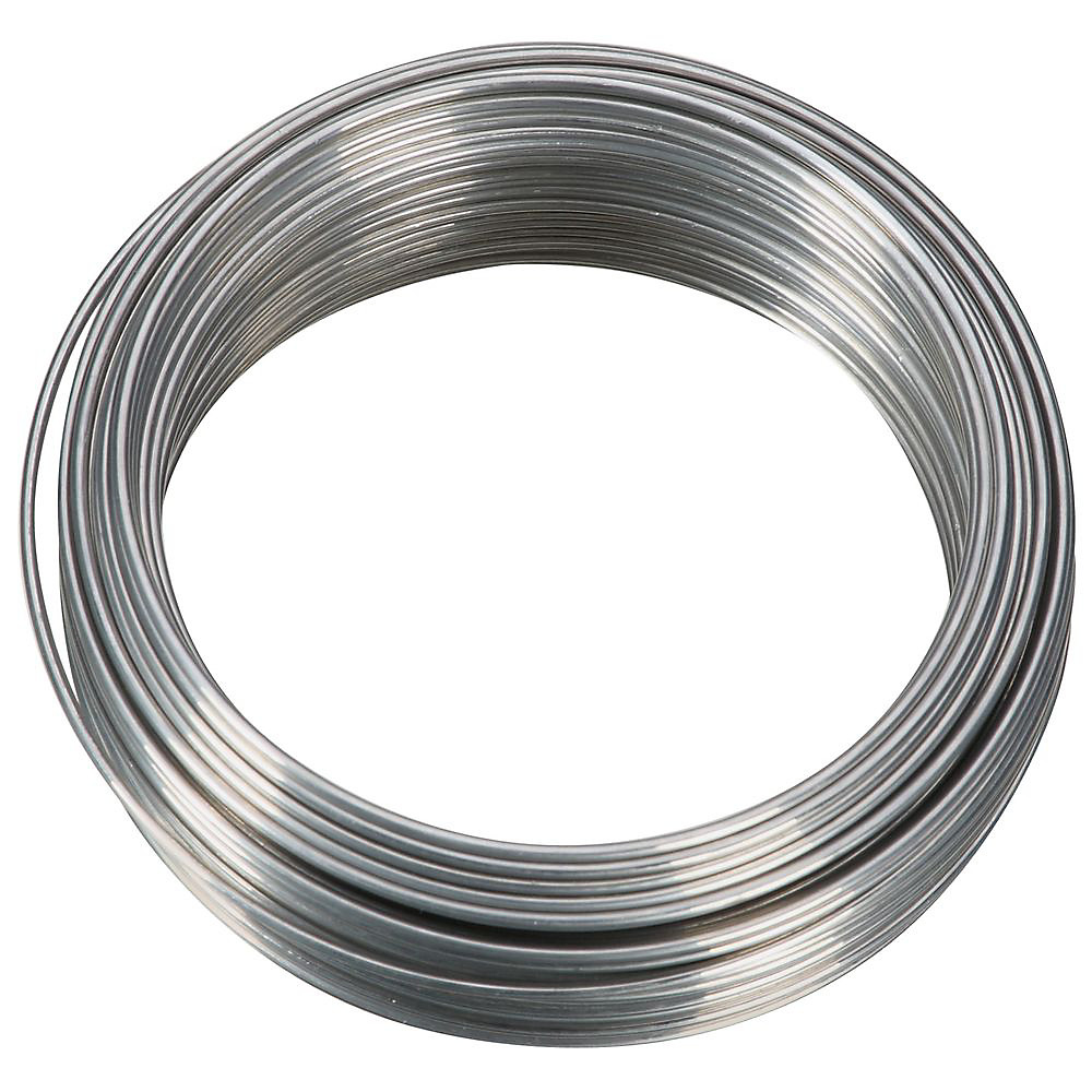 National Hardware N264-697 Aluminum Wire 18 Gauge By 50 Feet ...