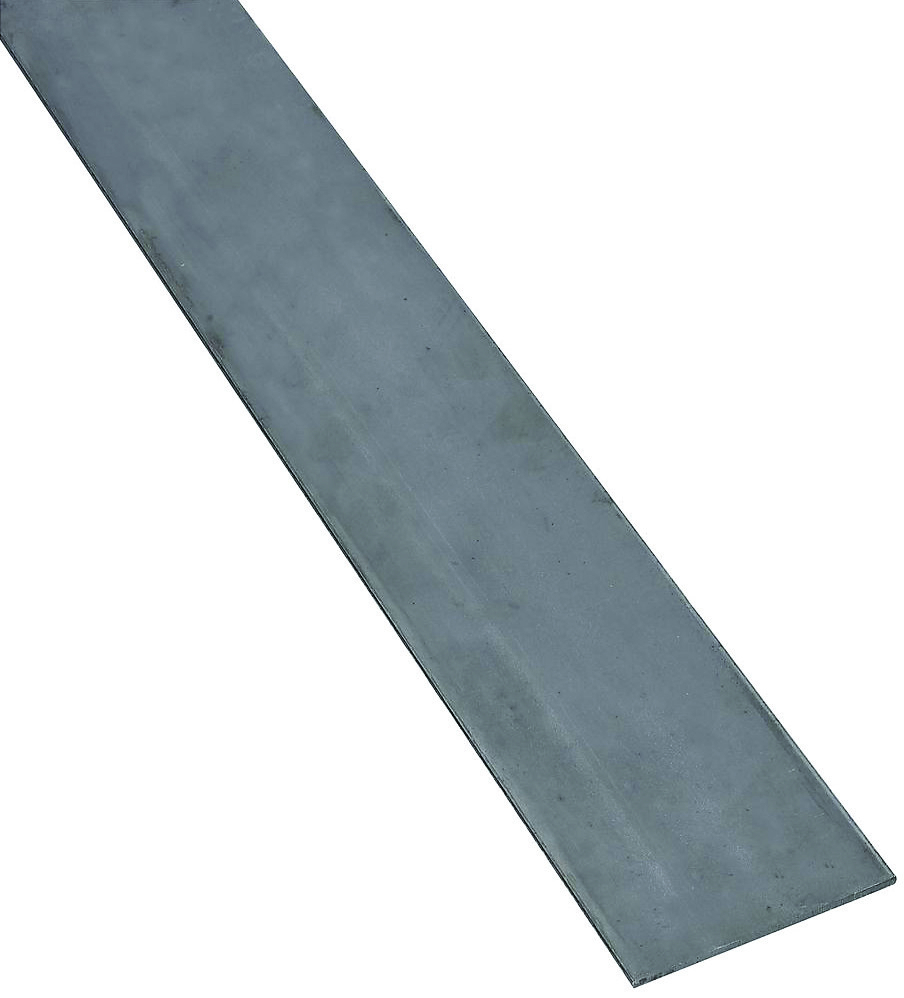 National Hardware N316-166 4062BC Solid Flat in Plain Steel