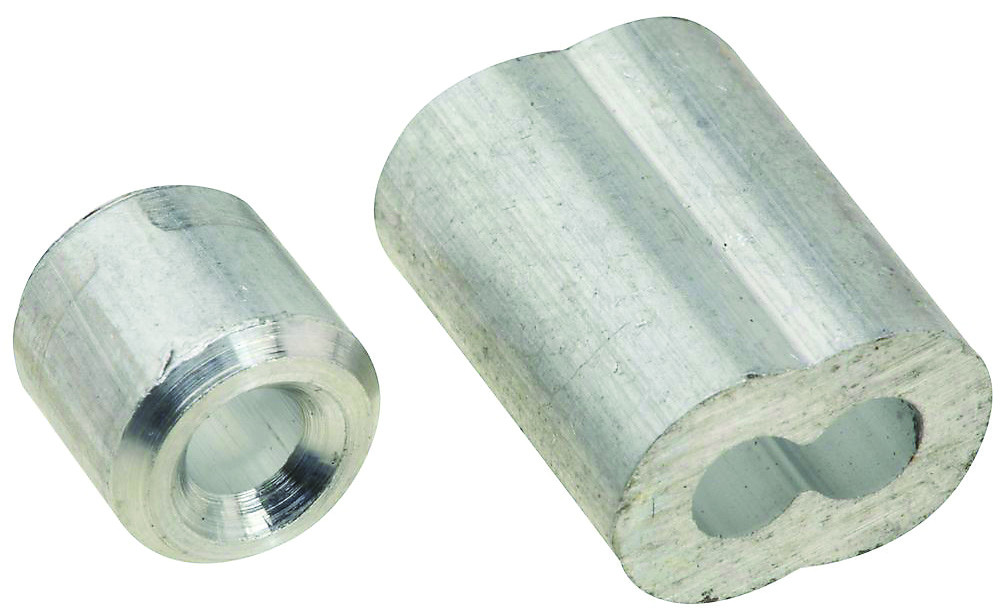 Stanley National N283-853 Aluminum Ferrules And Stops 1/8 Inch 2 ...
