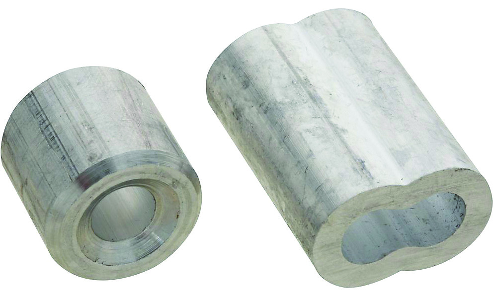 National Hardware N283-879 Aluminum Ferrules And Stops 1/4 Inch 2 ...