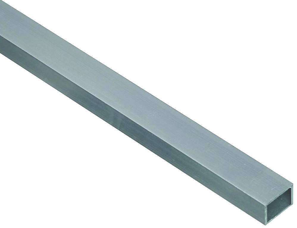 National Hardware N346-817 Square Tube 48 Inch 1/16 Inch Wall 3/4 Inch  Outside Diameter Mill Finish Aluminum