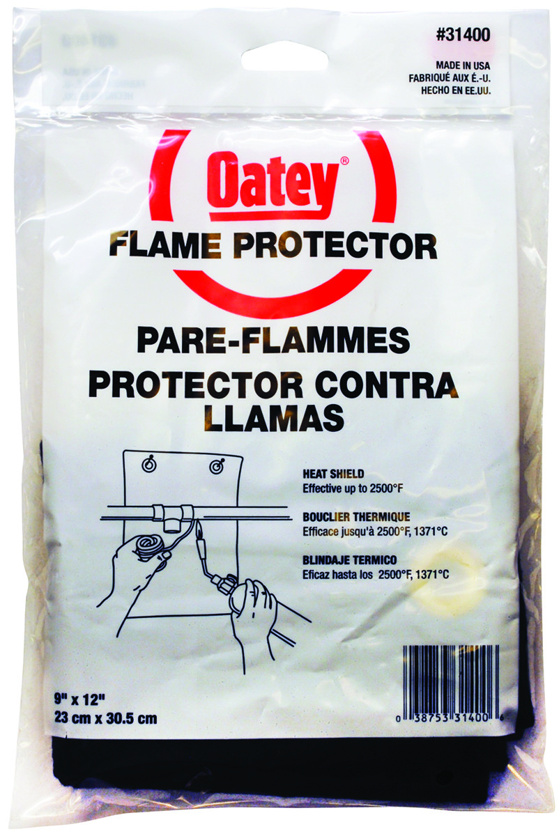 343899cea146 Oatey 31400 Flame Protector 9In By 12 Inch (038753314006)  1