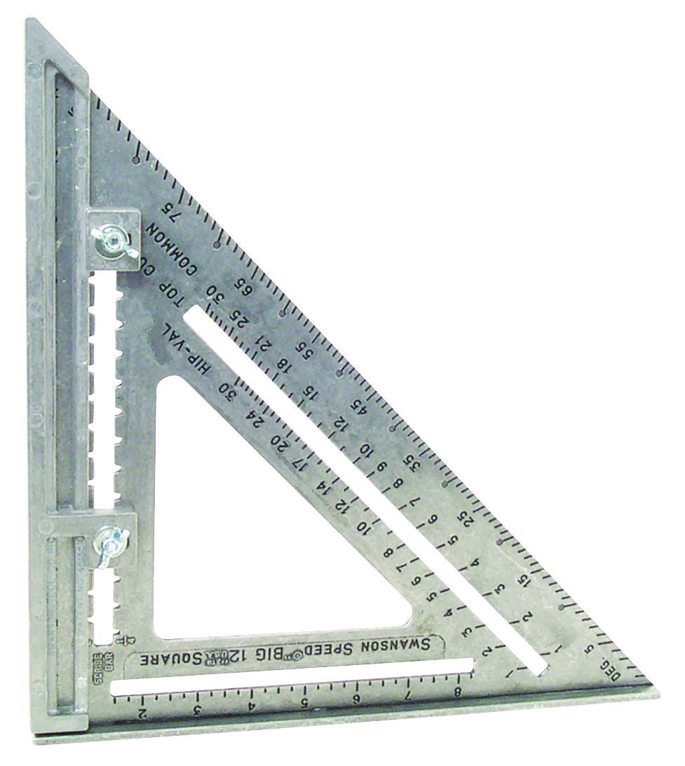 Swanson Tool S0107 Big 12 12 By 12 Inch Framing Square 038987001079